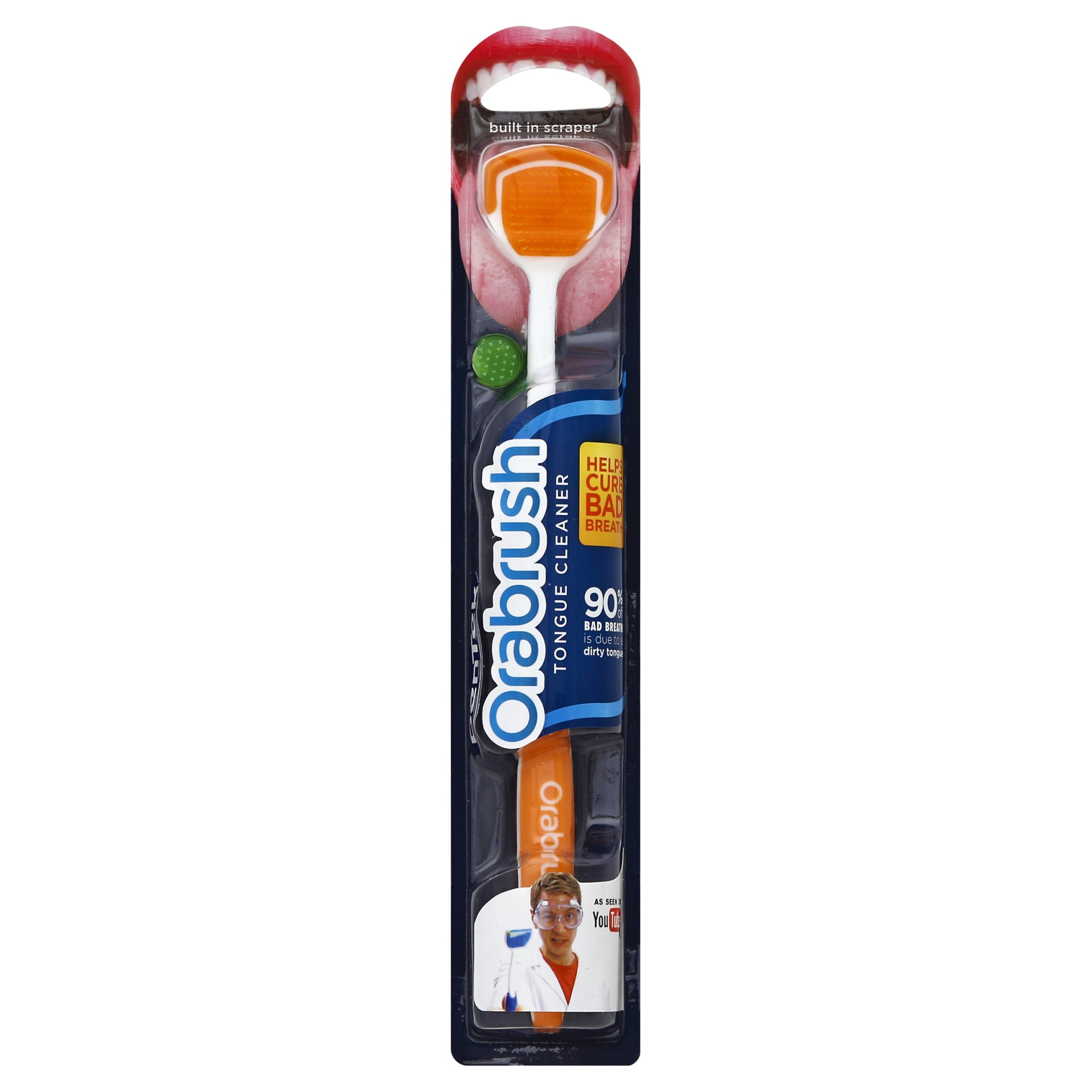 Orabrush Tongue Cleaner 1 Count