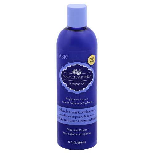 Hask Blue Chamomile With Argan Blonde Conditioner 12oz