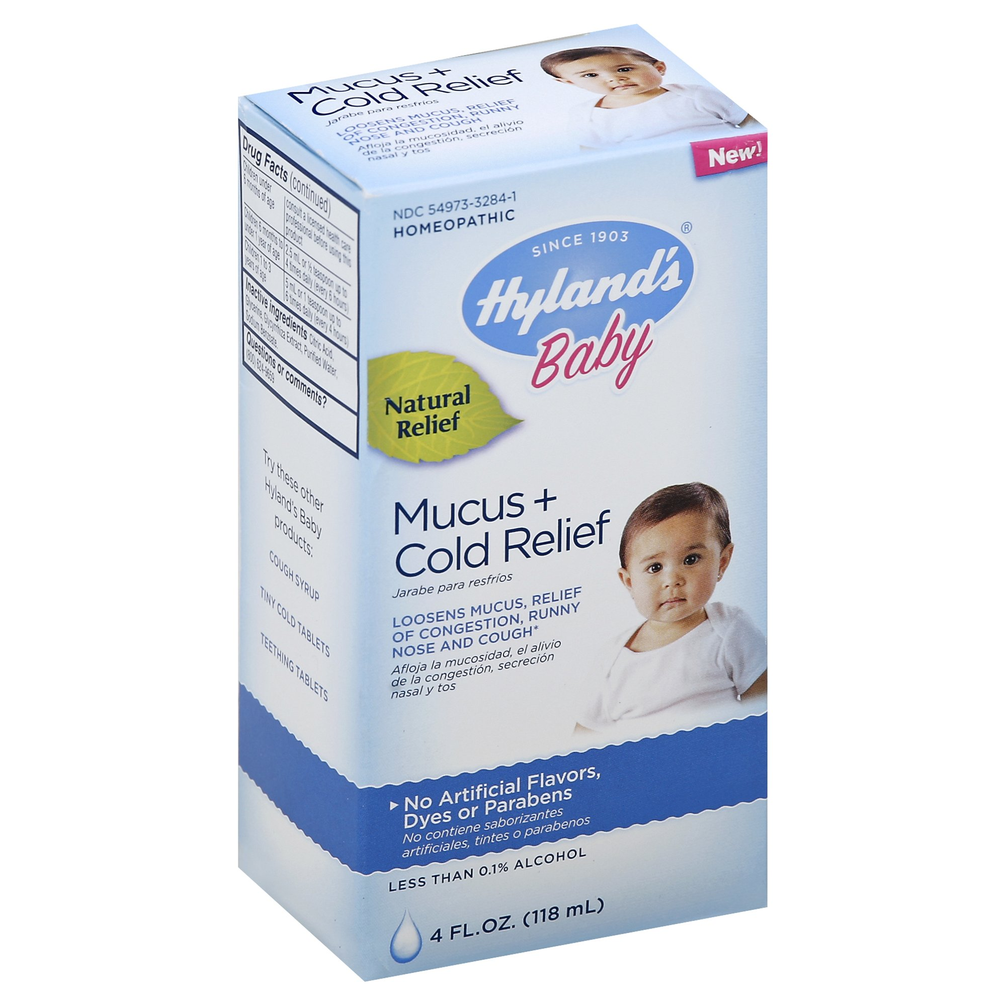 Hyland's Baby Mucus + Cold Relief 4 oz